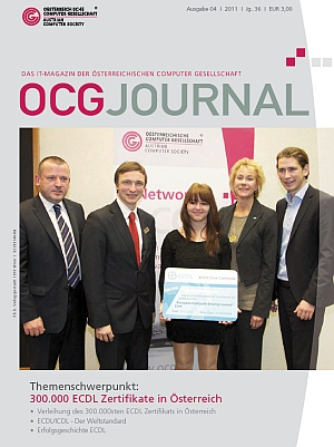 Cover: OCG Journal 4/2011