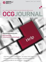 Cover: OCG Journal 4/2012