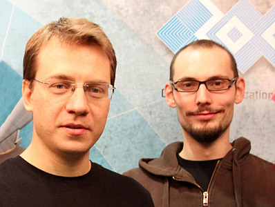 Ardian Dabrowski und Aljosha Judmayer, SBA Research